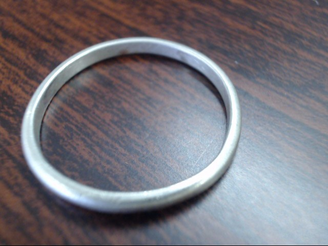 Gent's Silver Ring 925 Silver 1.8g Size:11