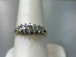 Lady's Gold-Diamond Anniversary Ring 7 Diamonds .49 Carat T.W. 14K Yellow Gold