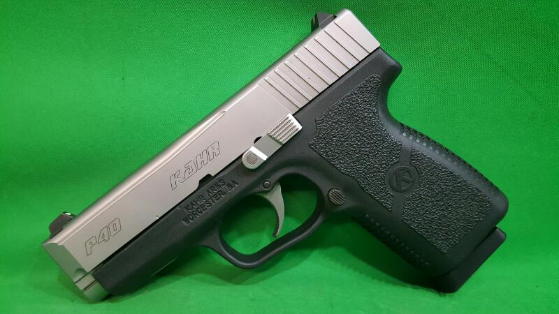 KAHR ARMS P40 40 S&W SS/POLY 6+1 W/ TWO MAGS 3.5IN BBL