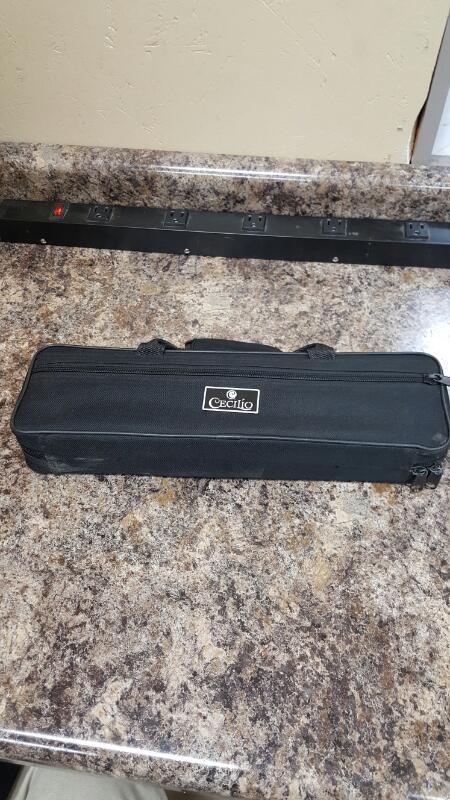 Cecilio FE-280N Flute With Black Cecilio Case