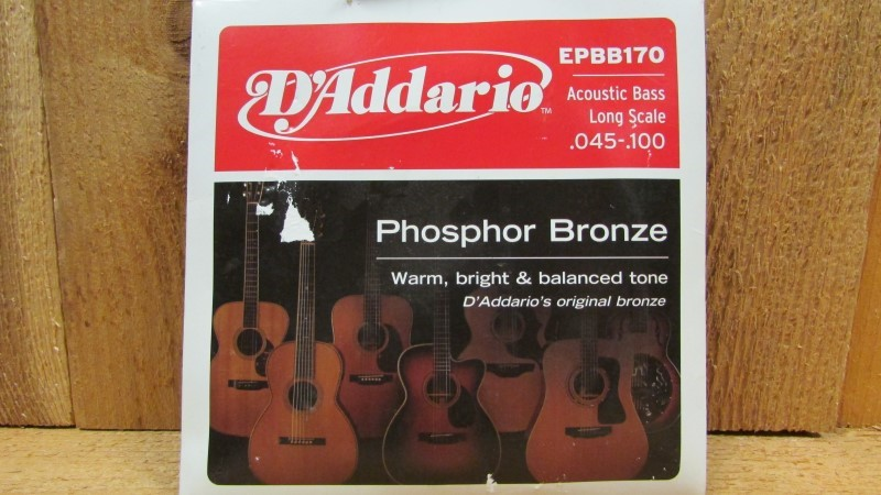 D'ADDARIO Musical Instruments Part/Accessory EPBB170 ACOUSTIC BASS STRINGS