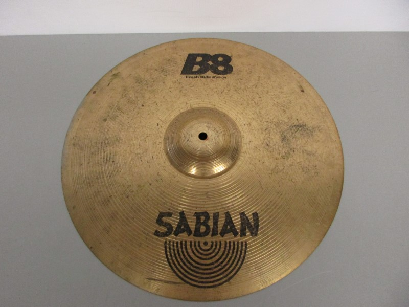 SABIAN B8 18'' / 45CM CRASH RIDE CYMBAL