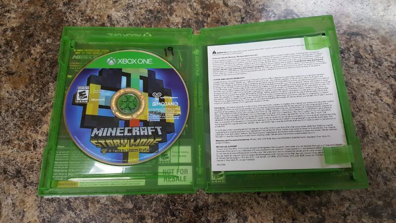 Minecraft: Story Mode - Season Pass Disc (Microsoft Xbox One, 2015)