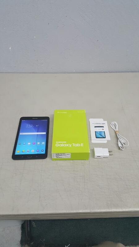 "Samsung Galaxy Tab E, 16gb (8"", SM-T377R4, Black, U.S. Cellular)"