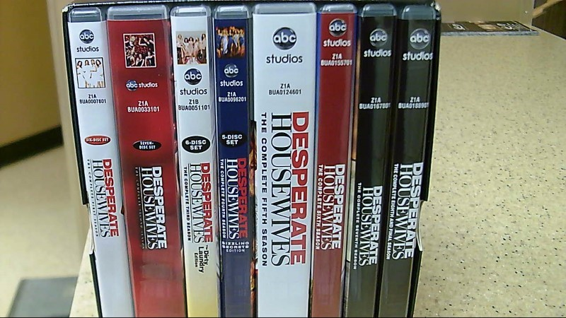 European Version Desperate Housewifes S 1-8 DVD Box Set Region 2