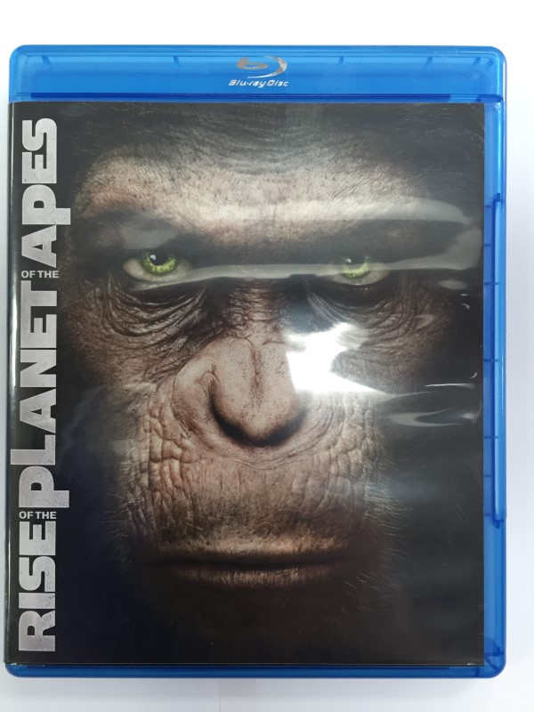 RISE OF THE PLANET OF THE APES, ACTION AND FANTASY BLU-RAY MOVIE.