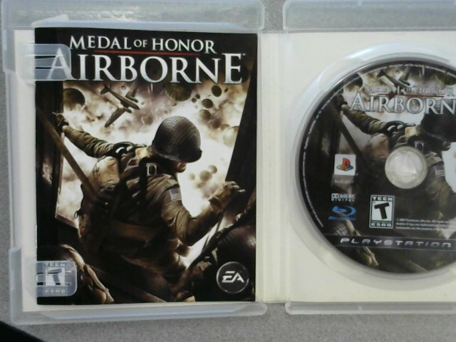 SONY Sony PlayStation 3 Game MEDAL OF HONOR AIRBORNE