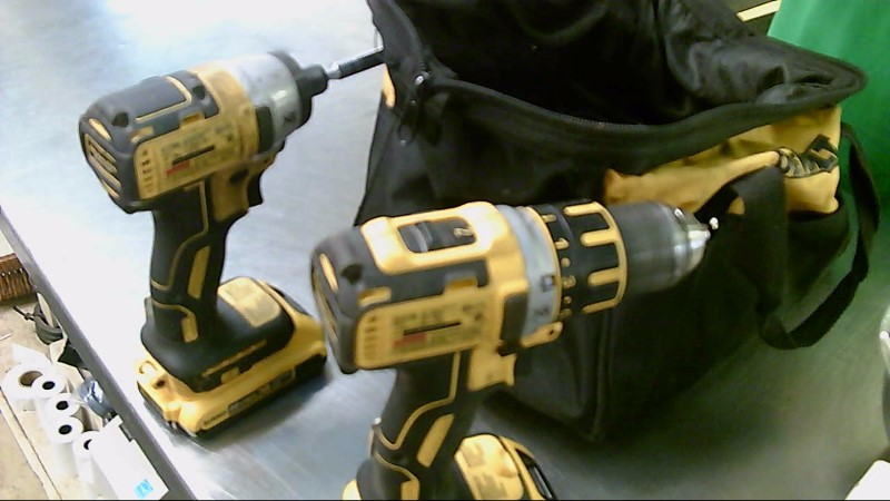 DEWALT Combination Tool Set DCD790 DCF886