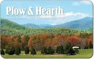 50.00 PLOW & HEARTH GIFT CARD