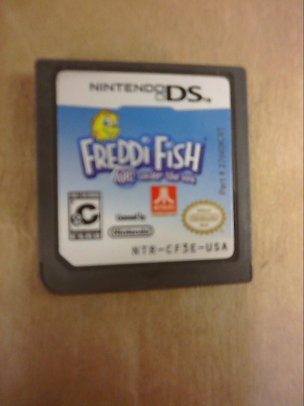 NINTENDO Nintendo DS Game FREDDI FISH ABC UNDER THE SEA