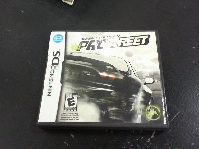 NINTENDO Nintendo DS Game NEED FOR SPEED PRO STREET DS