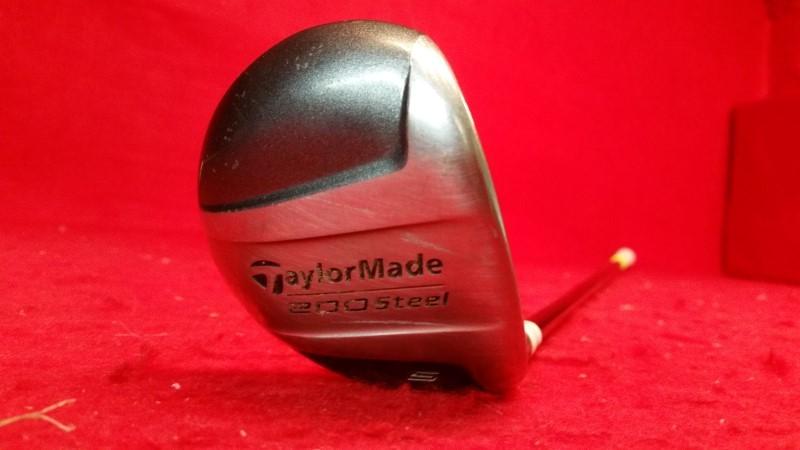 TaylorMade 200 Steel 5 Wood 18 deg Graphite Shaft Driver