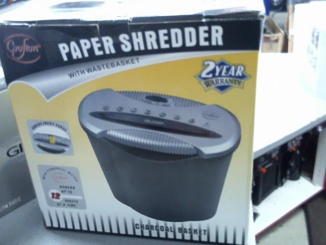 CROFTON PAPER SHREDDER