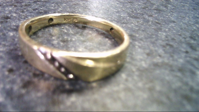Gent's Gold Ring 10K Yellow Gold 3.1g