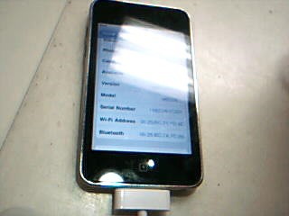 APPLE IPOD IPOD MB528LL/A TOUCH 8GB