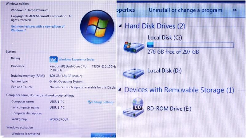 Sony VAIO PCG-7184L 4GB RAM Pentium 2.10GHz 320GB Laptop *AS IS*