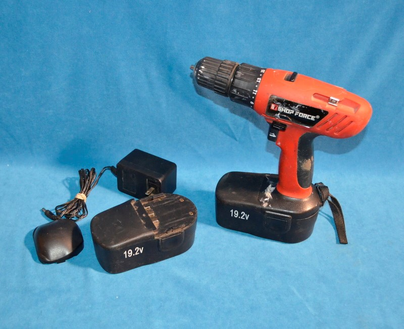 SHOP FORCE Cordless Drill 1202M