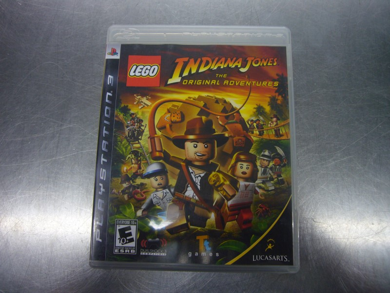 SONY PlayStation 3 Game LEGO INDIANA JONES THE ORIGINAL ADVENTURES