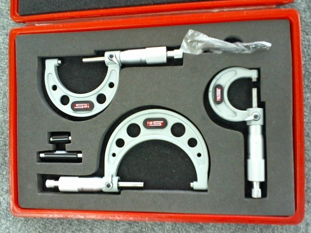 SPI - SWISS PRECISION INSTRUMENTS Micrometer CALIPER SET