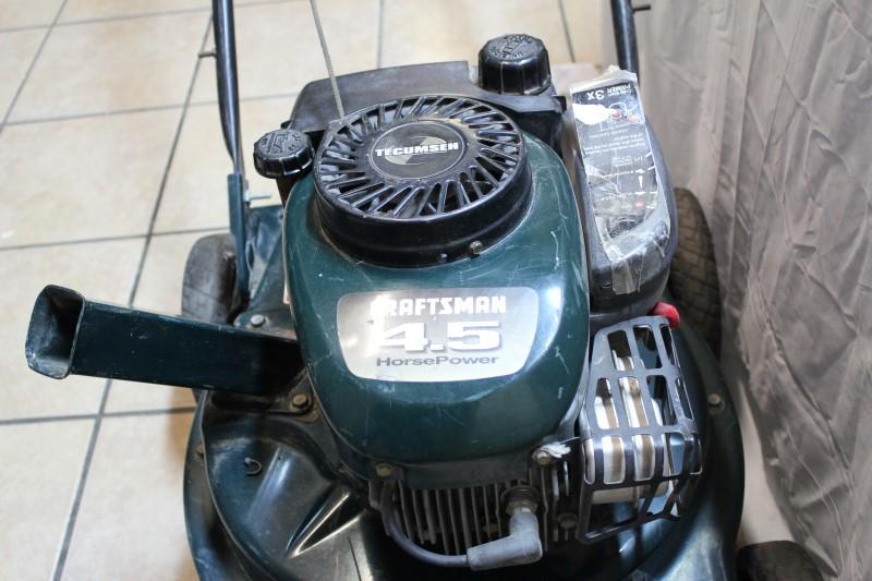 CRAFTSMAN Lawn Mower VACUUM CHIPPER 4.5 HP