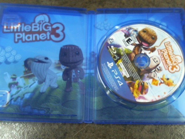 SONY Sony PlayStation 4 Game LITTLE BIG PLANET 3 DAY 1 EDITION! - PS4
