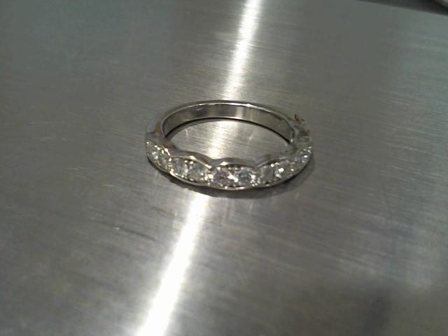 Lady's Gold Ring 18K White Gold 4.2g