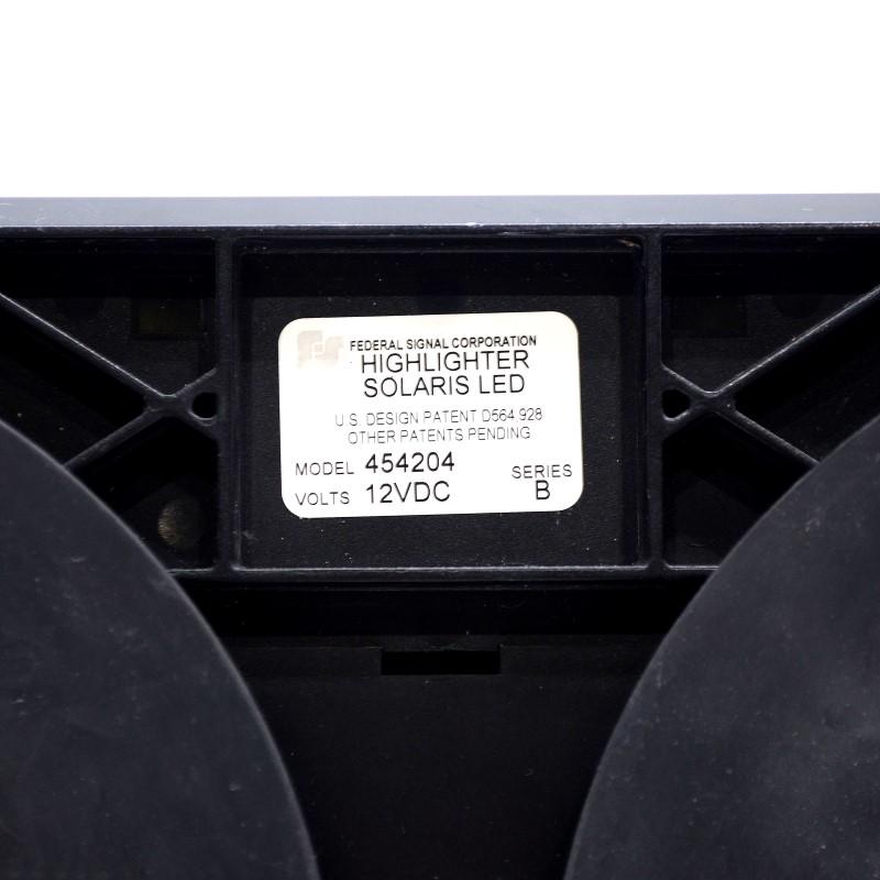 Federal Signal Highlighter Solaris Pair of LED Mini-Lightbar 454204>