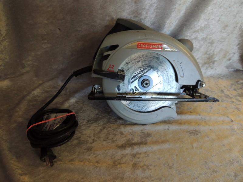 """Craftsman 7 1/4"""" Circular Saw 12 Amp 172.108520"""
