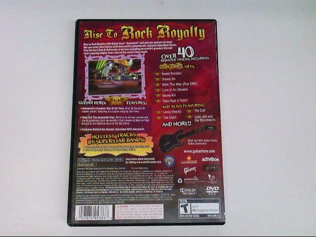 SONY PS2 GUITAR HERO AEROSMITH