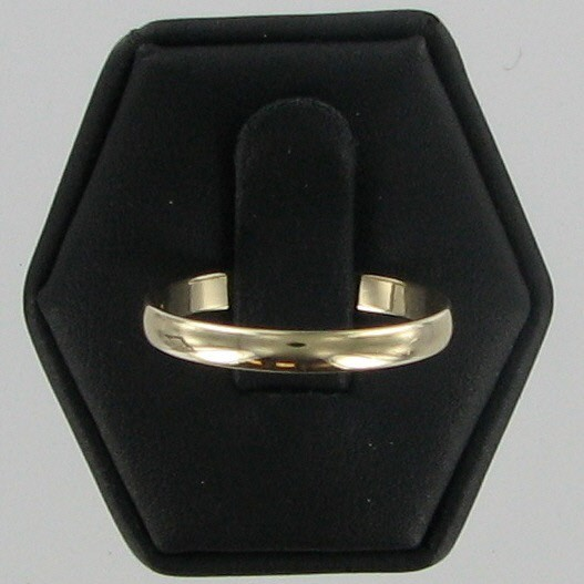 Lady's Gold Wedding Band 14K Yellow Gold 1.4dwt
