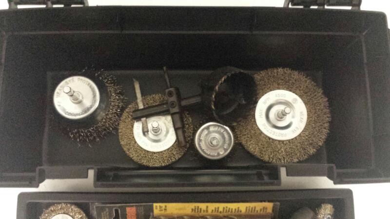 PROJECT SOURCE Drill Bits/Blades BOX OF BRUSH WHEELS