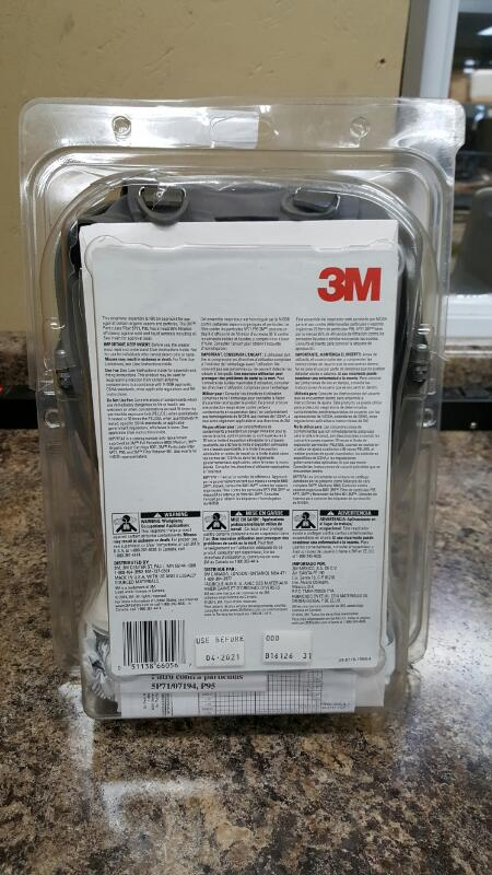 3M 68P71 Full Face Paint Project Respirator OV/P95 Medium