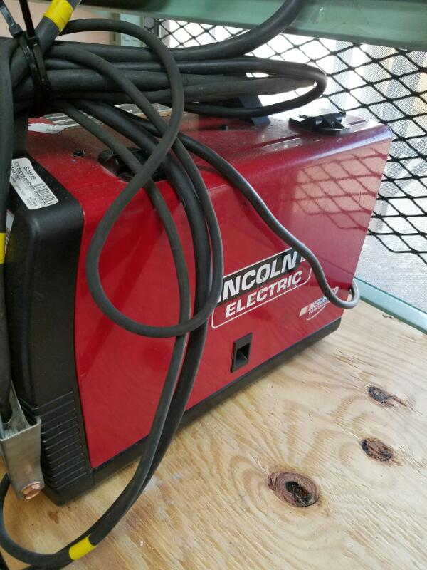 LINCOLN ELECTRIC Wire Feed Welder WELD-PAK 125HD