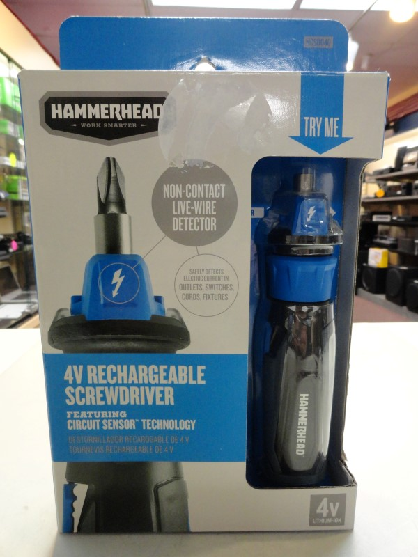 Hammerhead HCSD040 4V Rechargeable Screwdriver