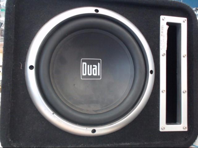 Speakers/Subwoofer SUBWOOFER