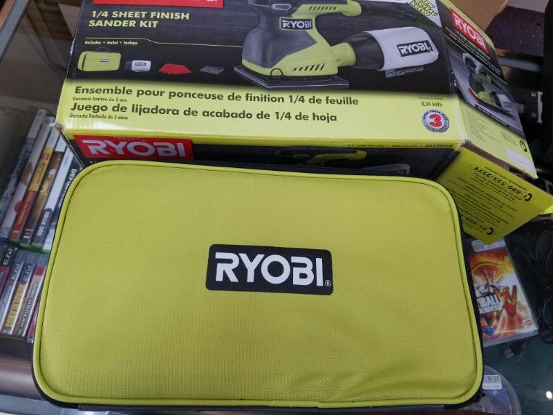 RYOBI Vibration Sander S652DGK
