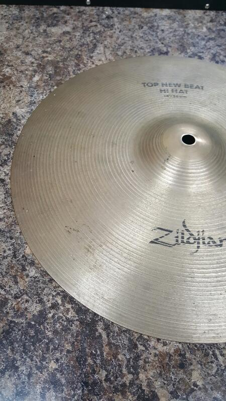 "AS IS - Zildjian 14"" New Beat Hi Hat Pair, Top & Bottom Set Cymbal 14""/36c"