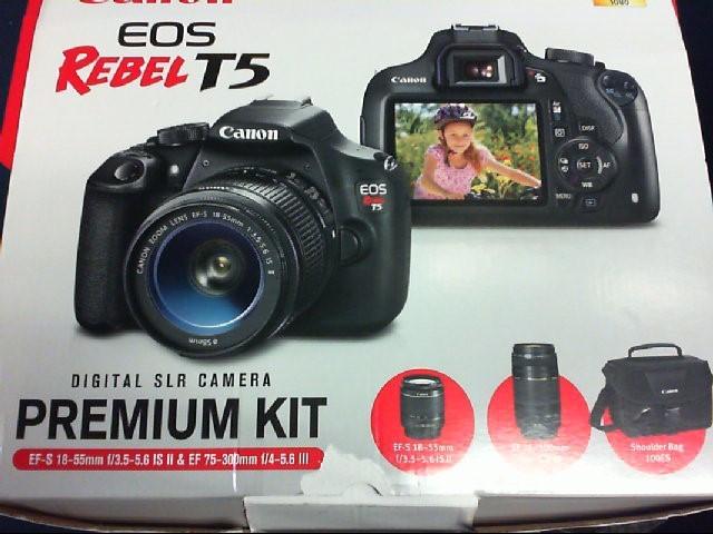 CANON Digital Camera EOS REBEL T5 KIT