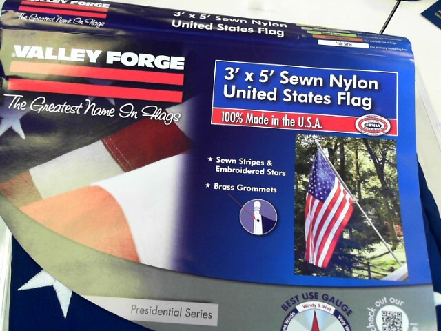VALLEY FORGE Scarf/Wrap 48 STAR FLAG