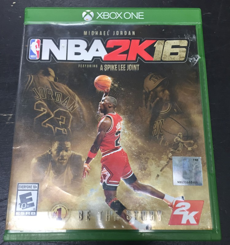 NBA 2K16 - Michael Jordan Special Edition - Xbox One