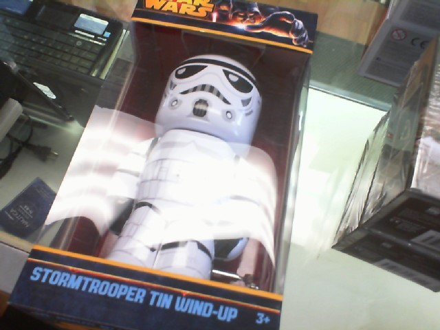 STAR WARS Miscellaneous Toy STORMTROOPER TIN WIND-UP