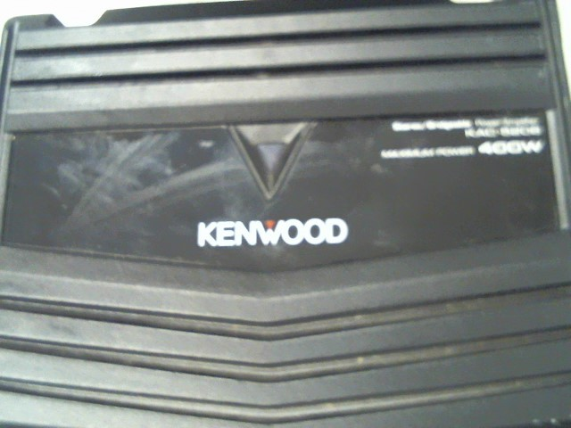 KENWOOD Car Amplifier KAC-5206