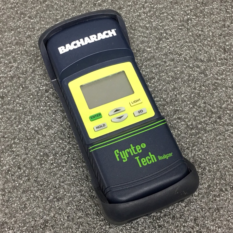BACHARACH DETECTOR FYRITE TECH 60 GAS COMBUSTION ANALYZER
