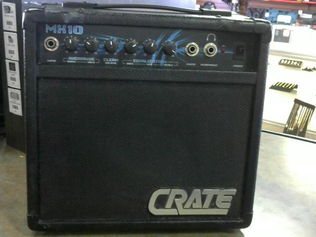 CRATE AUDIO Electric Guitar Amp MX10
