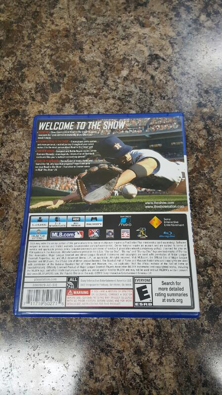 MLB: The Show 16 (Sony PlayStation 4, 2016) PS4