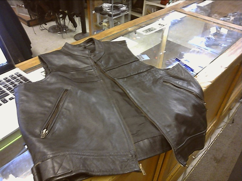 LEATHER KING Coat/Jacket VEST