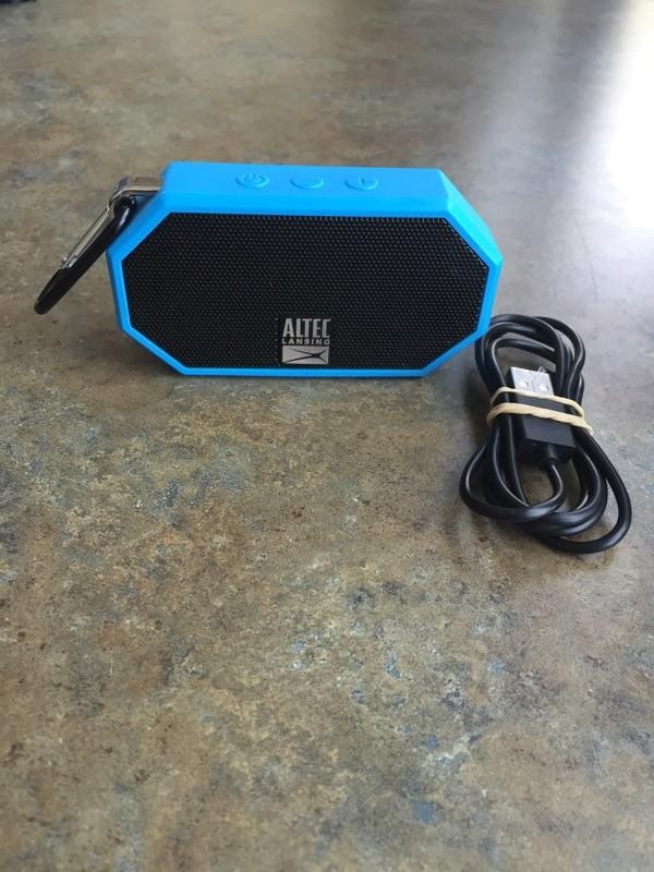 ALTEC LANSING Speakers MOBILE BLUE TOOTH SPEAKER