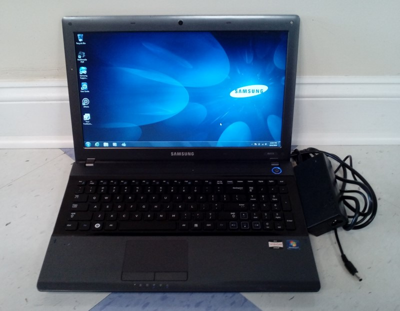 "SAMSUNG 15.6"" NOTEBOOK LAPTOP NP-RV515 WIN7/4GBRAM/1.65GHZ/175GB"