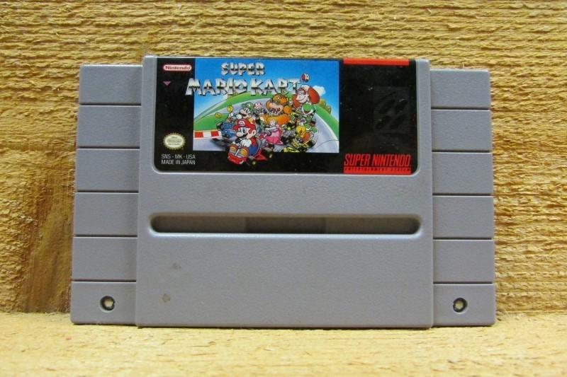 NINTENDO Nintendo SNES Game SUPER NINTENDO SUPER MARIO KART