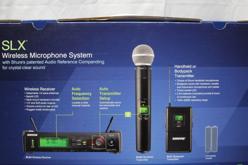 SHURE Microphone BETA 58A WIRELESS